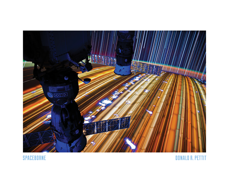 3 - Star trails as seen from ISS