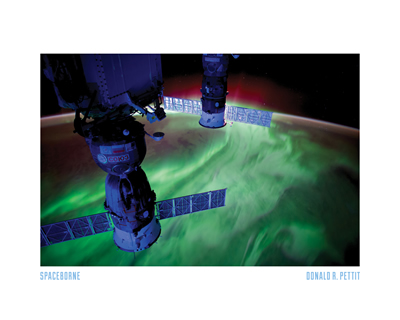 8 - Aurora Borealis as seen from ISS